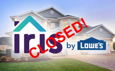 IRIS by Lowe's CLOSED!